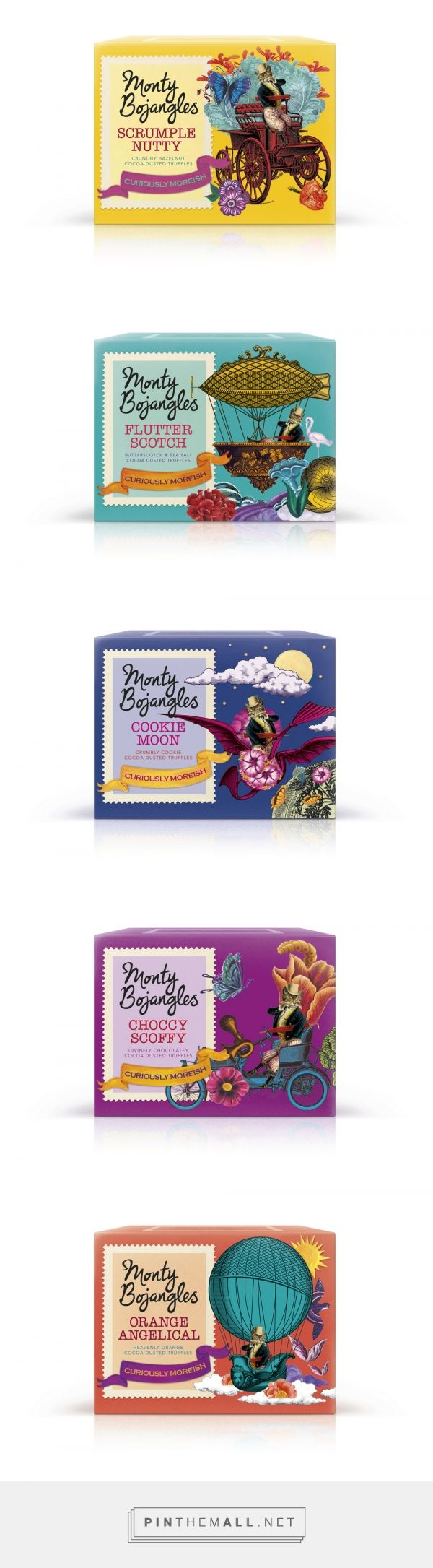 I love the colourful packaging for Monty Bojangles Truffles nearly as much as I love the truffles!