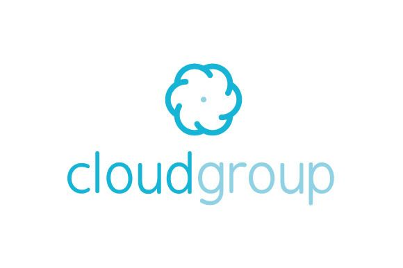 Cloud Group Logo ~ Logo Templates on Creative Market