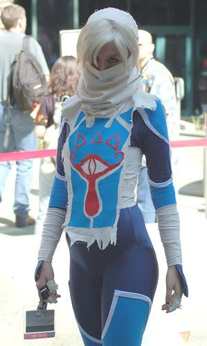 Sheik, Princess Zelda, cosplay. Beatiful!