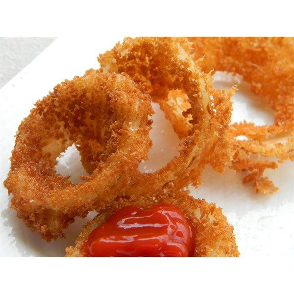 """Making Crispy Onion Rings 