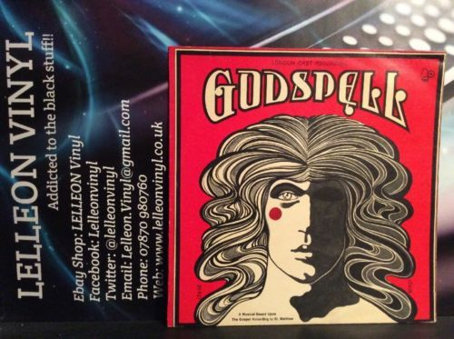 Godspell Soundtrack LP Album Vinyl Record BELLS203 Musical Theatre 70's Music:Records:Albums/ LPs:Soundtracks/ Themes:Musicals