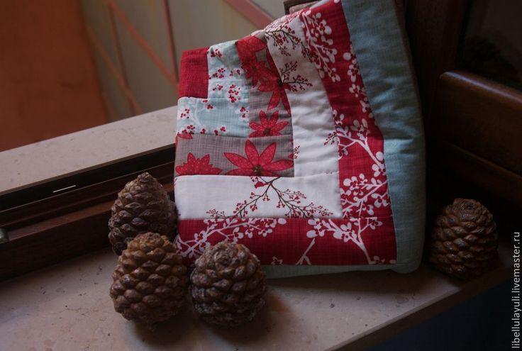 """Купить """"Зимнее окошко"""" лоскутное одеяло - лоскутное одеяло, детское лоскутное одеяло, детское одеяло"""