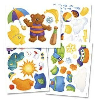 Printable Weather Bear Bulletin Board