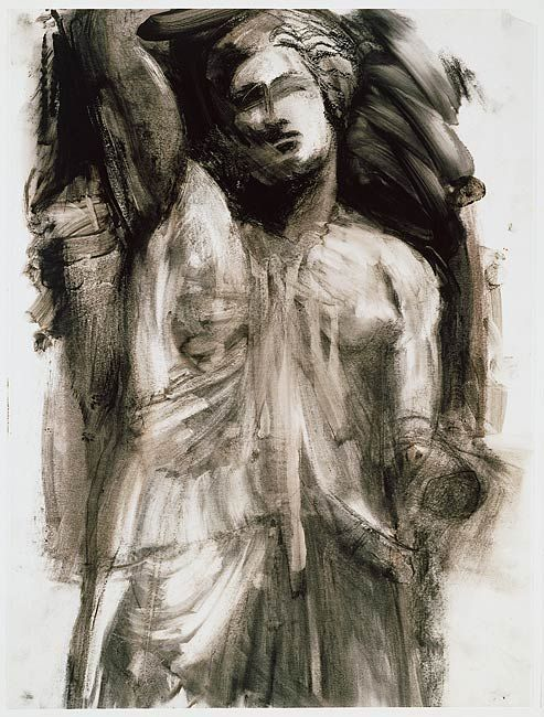 The Morgan Library & Museum Online Exhibitions - Jim Dine: The Glyptotek Drawings Online Exhibition - Glyptotek Drawing [3]