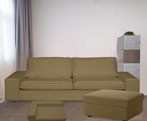 Ikea Kivik 3 Seats Sofa Bed Cover Ikea Kivik Slipcover Ikea Kivik Sofa Cover Father S Day Gift Ikea Sofa Cover Kivik C In 2020 Ikea Sofa Covers Ikea Sofa Bed Ikea Sofa