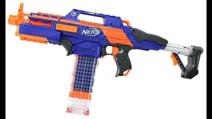 Reviewing The N-Srtike By Nerf - YouTube