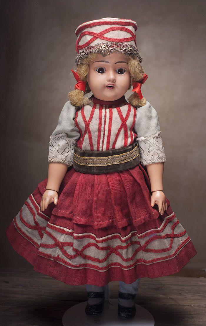 Русская кукла  С.Г. Дунаева, Хотьково, 1910-е годы