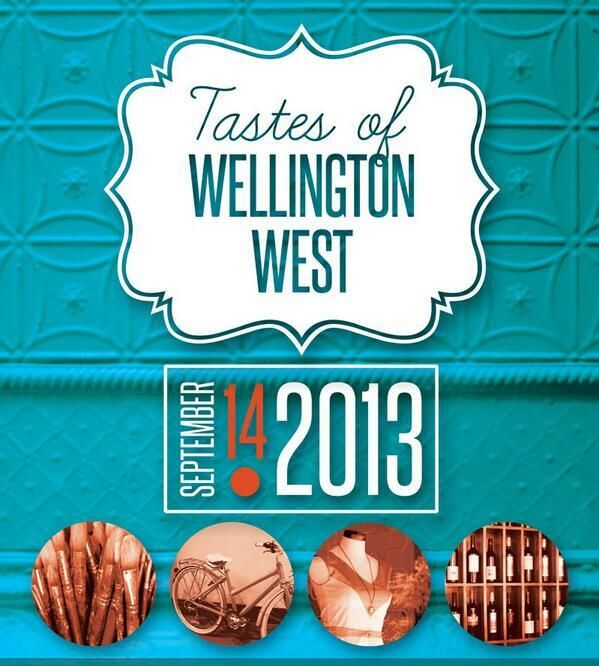 Join us tomorrow for Tastes of Wellington West for fun activities for all ages! Don't forget to visit our sidewalk station ;)