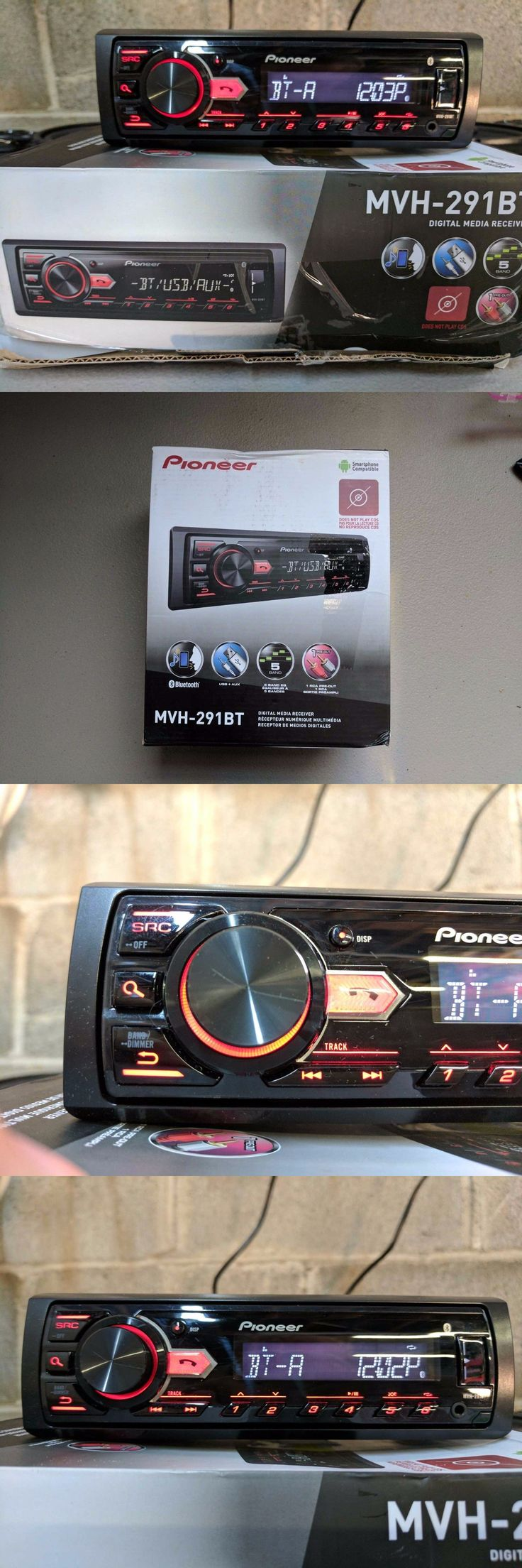 Car Audio In-Dash Units: Pioneer Mvh-291Bt Car Stereo Media Player Bluetooth -> BUY IT NOW ONLY: $49.99 on eBay!