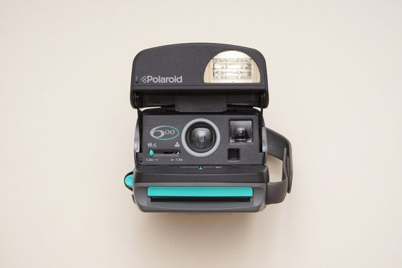 Polaroid 600 Instant Film Camera with Box and Manual  by ohsocult
