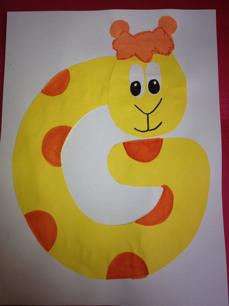 8 Best Images About G Is For Giraffe On Pinterest Letter