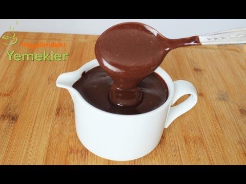 Çikolata Sosu Nasıl Yapılır | Resimli Yemek Tarifleri Hayalimdeki Yemekler