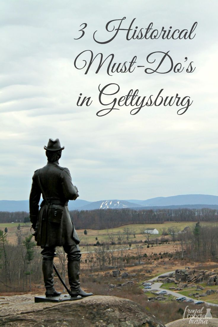 Immerse yourself in the history, heritage, and charm of a town that helped shape the Civil War with these 3 Historical Must-Do's in Gettysburg. #gettysburggetaway #ad