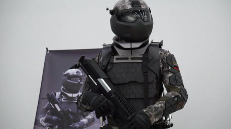 Russian military lab unveils prototype of Star Wars-like combat suit (VIDEO) https://tmbw.news/russian-military-lab-unveils-prototype-of-star-wars-like-combat-suit-video  Published time: 30 Jun, 2017 06:58A major hi-tech Russian military research center has unveiled what appears to be a prototype of a next-generation combat suit. The stunning gear, resembling Star Wars outfits, will be worn by Russian soldiers on future battlefields.The prototype features a helmet covering the soldier's face…