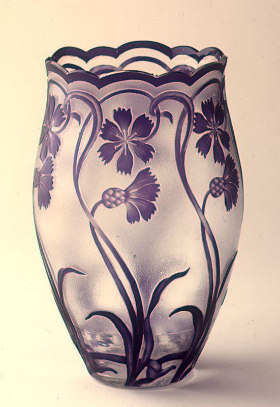17 best images about val saint lambert on pinterest for Vase antique romain