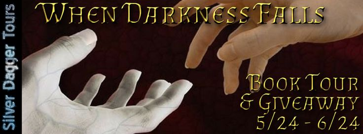 Enter to win a custom made vampire diary in the When Darkness Falls #Book Spotlight  #Giveaway ~ A Mama's Corner of the World