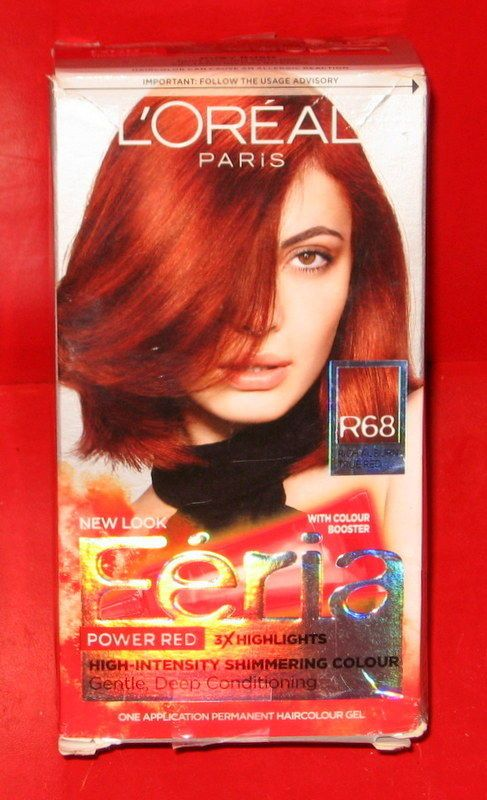 loreal paris feria hair color #
