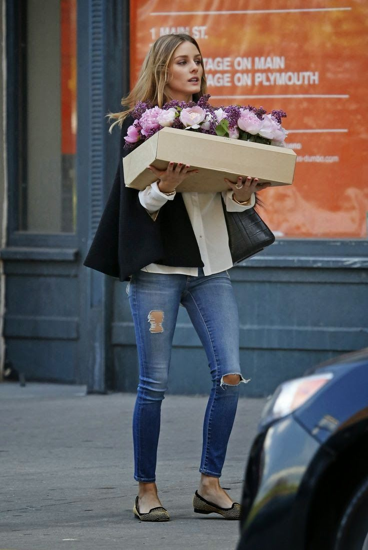 The Olivia Palermo Lookbook : Olivia Palermo in Brooklyn, New York, in our Modell Cannes Schoshoes# schosie