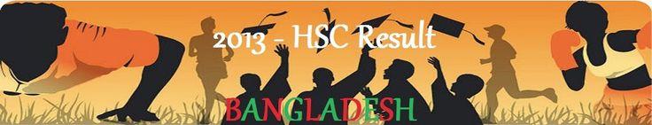 2013 HSC Exam Result in Bangladesh