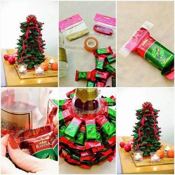 Homemade edible Christmas trees - Eye-catching and delicious treats