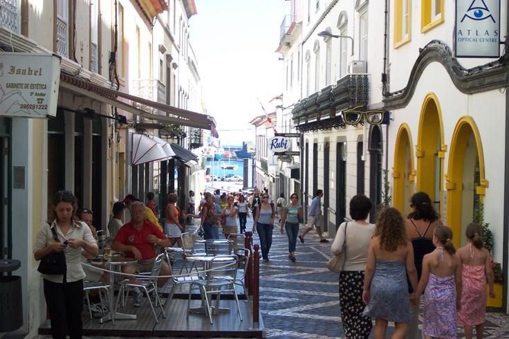 Ponta Delgada, Sao Miguel Azores This is the city my dad was born in...