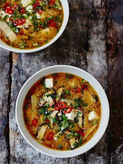 Hot & Sour Soup | Vegetable Recipes | Jamie Oliver Recipes#yvJtmCF3BTkCxjX3.97#yvJtmCF3BTkCxjX3.97#yvJtmCF3BTkCxjX3.97