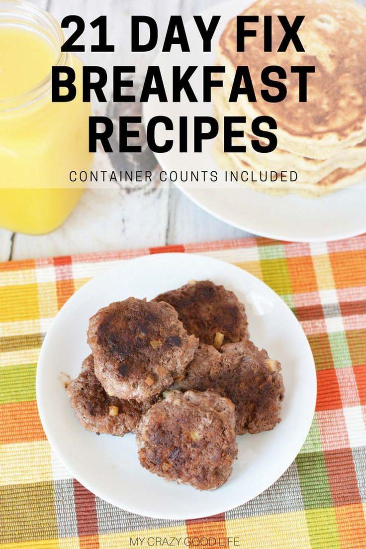 21 Day Fix Breakfast Recipes 21 Day Fix Breakfast Super