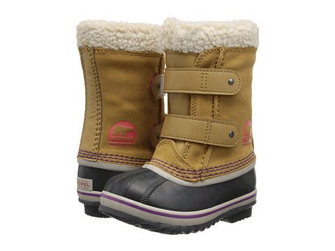 SOREL Kids 1964 Pac™ Strap (Toddler/Little Kid) Curry - Zappos.com Free Shipping BOTH Ways