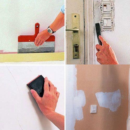 Comment préparer les fonds et réussir sa peinture ? Clever, Salons - comment boucher une fissure dans un mur exterieur