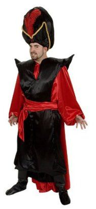 Aladdin Junior Costume Rental for Jafar - the Costumer.  Like this Jafar.