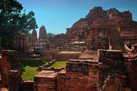 Ayuttaya archaeological site 10
