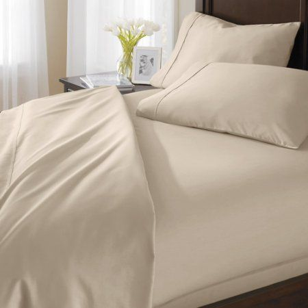 Better Homes and Gardens 400 Thread Count Egyptian Cotton Sheet Set, Gray
