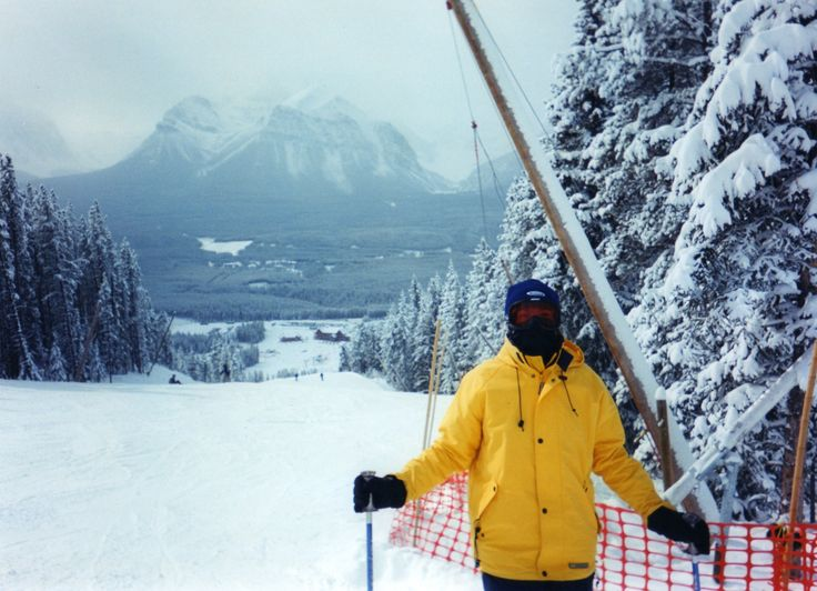 Ski Canada - Banff Ski Resort.  I did this one spring, hung over.  Not the best ski day for me - but it was beautiful.
