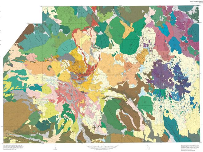 Beautiful Destruction Gorgeous Geologic Maps Of Volcanoes - Active volcanoes in the us map