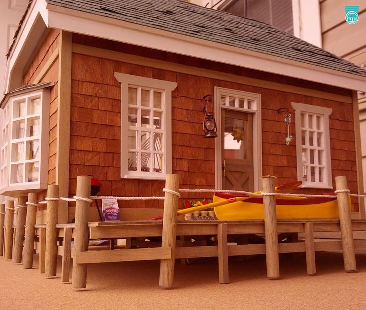 17 Best Images About Miniature Beach Houses And Nautical
