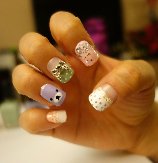 StyleHaul Manicure Monday - Rilakkuma Nail Art