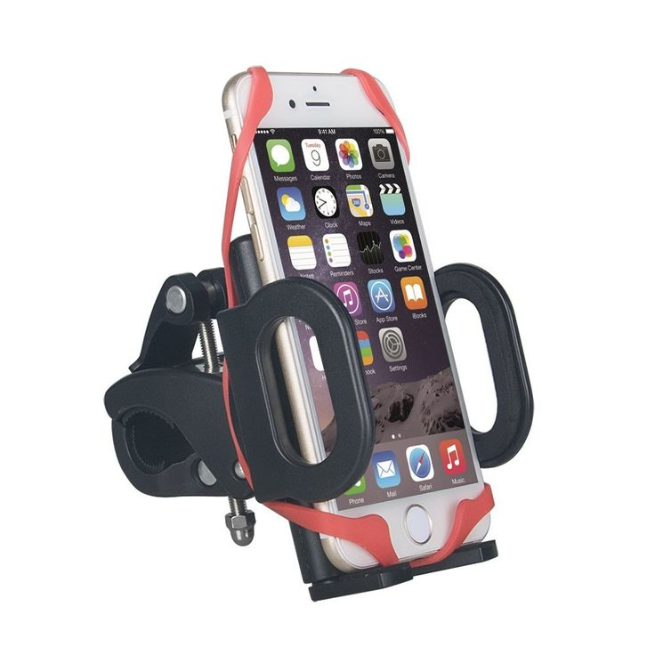 AVCS Bike Holder Universal Motorbike Mount Handlebar Smartphone Stand Cradle Cycling GPS Clamp for Iphone 5 6 7 s Samsung Galaxy Nexus Lumia Huawei Mobile Phones Accessories for Road Bike like Giant, Fuji, Cube, Scott, Merida, Trek, Bianchi etc: Amazon.co.uk: Electronics