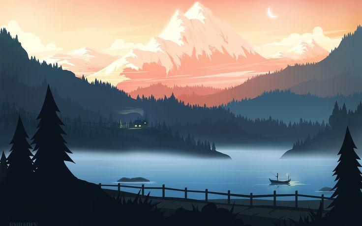Mountains Retreat Minimal Beautiful 4k In 2560x1600 Resolution Scenery Wallpaper Desktop Wallpaper Art Active Wallpaper