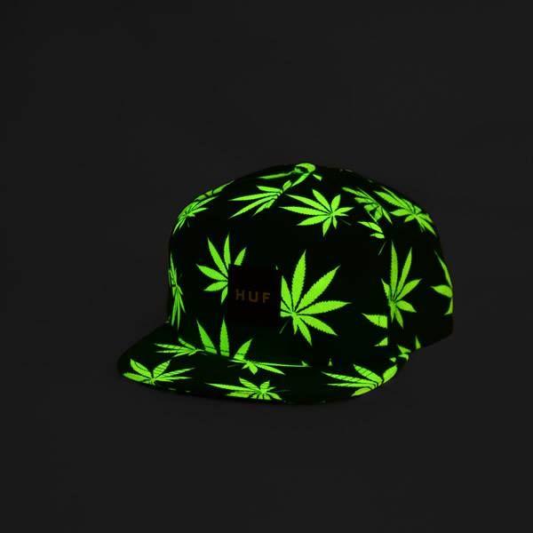 HUF Plantlife Snapback Black  Green - Glow In The Dark   Disponibil in stoc www.ImperatorShop.ro