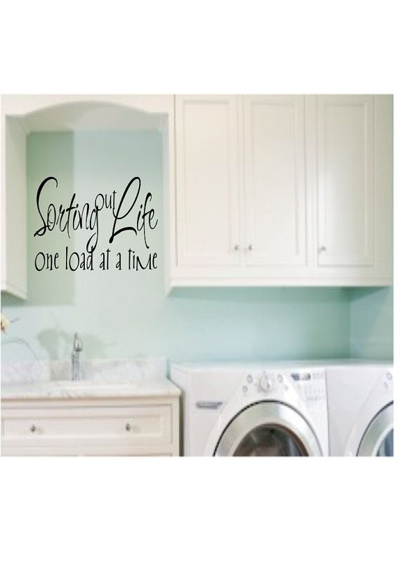 Sorting out Life One load at a time Laundry by madebytheresarenee, $8.99