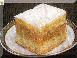 Fotorecepty: Jablkový koláč s pudingom