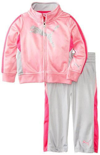 PUMA Kids Baby-Girls Infant Cat Tricot Set - List price: $48.00 Price: $15.83 Saving: $32.17 (67%)