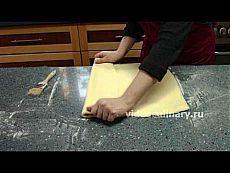 Дрожжевое слоёное тесто для круассанов - Видеокулинария.рф - видео-рецепты Бабушки Эммы | Видеокулинария.рф - видео-рецепты Бабушки Эммы