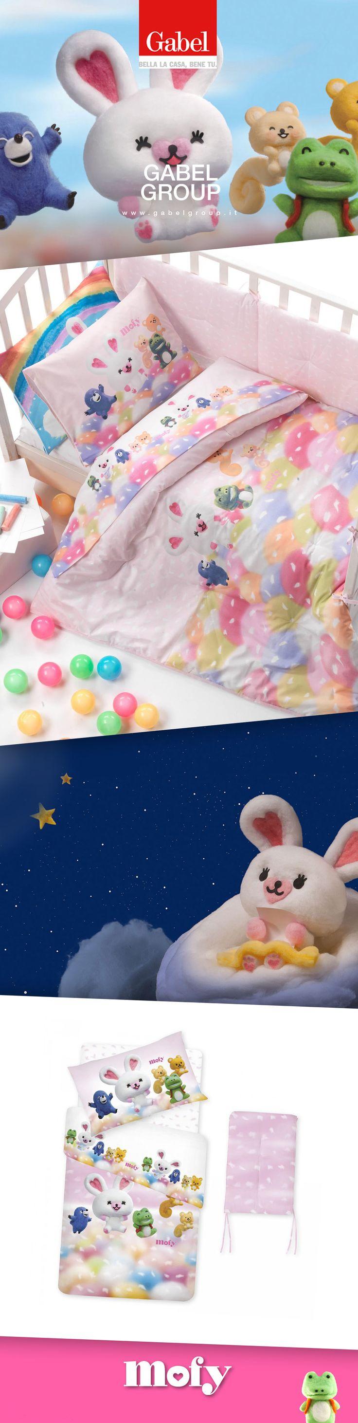 #Mofy accompagnerà i vostri #bimbi durante i loro #sogni...non si sentiranno mai soli nel loro #lettino