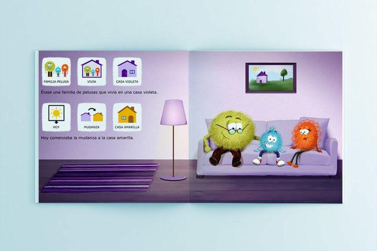 Libros infantiles. Cuentos infantiles cortos con pictogramas, descarga gratuita en: www.aprendicesvisuales.com