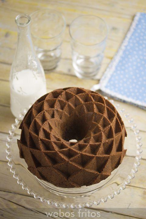 Bundt cake de chocolate                                                                                                                                                     Más
