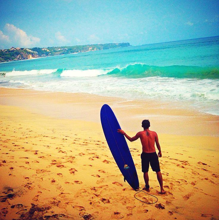 Wave-ing, Pandawa Beach - Bali