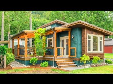 Amazing Beautiful Blend Park Model With 3 Bedrooms For Sale Le Tuan Home Design Youtube Small House House Exterior Tiny House Living