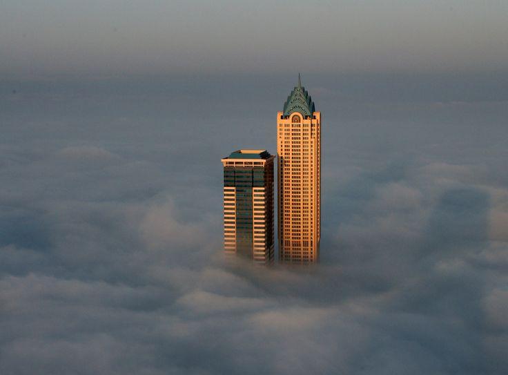 All alone, worlds tallest buildings,Dubai