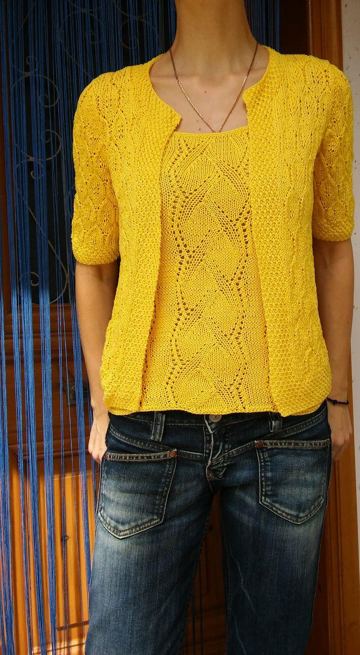 Knit set..cotton...